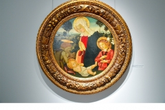 Madonna and Child with St John the Baptist and an Angel