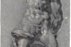 Study after Michelangelos Samson for blog post