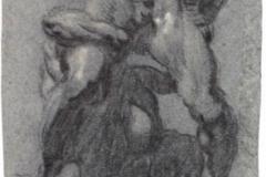 Study after Michelangelos Samson