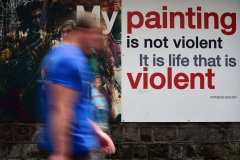 Painting is Not Violent